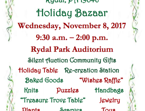 Rydal Park Holiday Bazaar