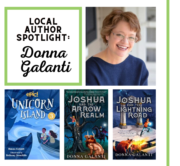 Local Author Spotlight: Donna Galanti Launches New Children's Series