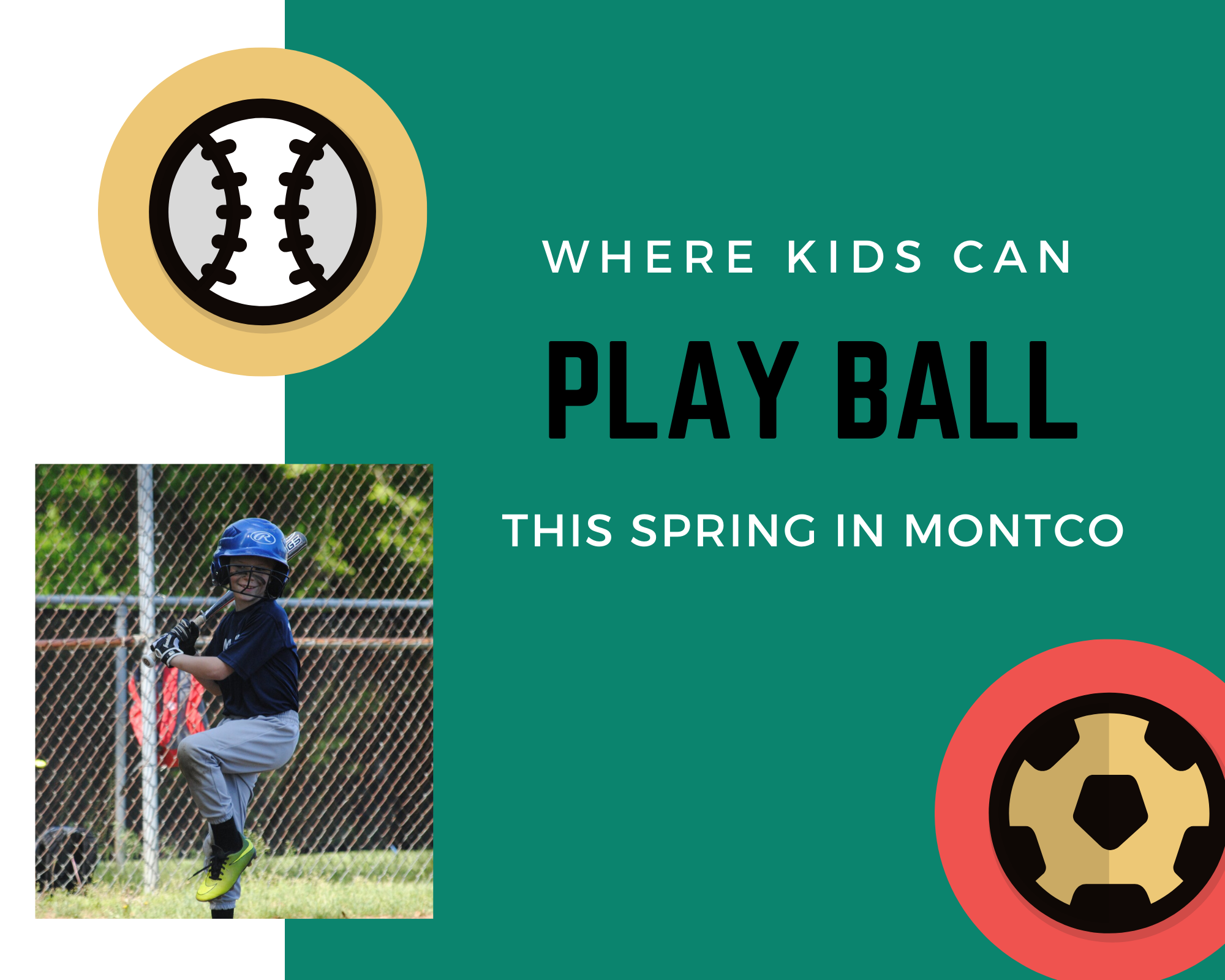 Where Kids Can Play Ball in Montco This Spring